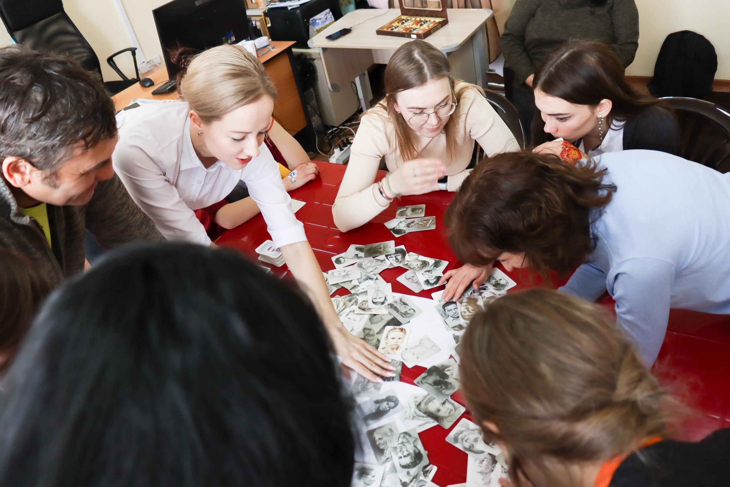Психологический тренинг для волонтеров проекта «Академия улыбок»